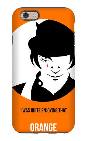 Orange Poster 2 iPhone 6s Case by Anna Malkin