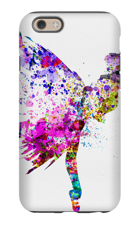 Ballerina on Stage Watercolor 3 iPhone 6 Case by Irina March