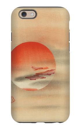 Red Sun iPhone 6 Case
