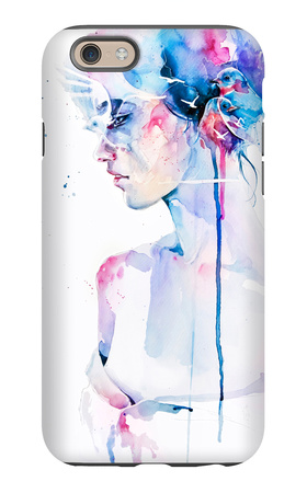 2 + 2 = 5 iPhone 6 Case by Agnes Cecile