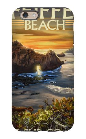 Pfeiffer Beach, California iPhone 6s Case by  Lantern Press