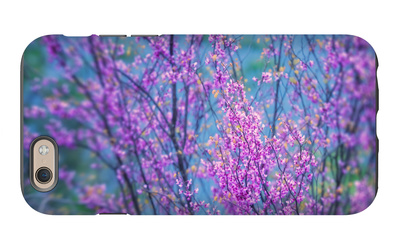 Redbud River Abstract iPhone 6s Case by Vincent James