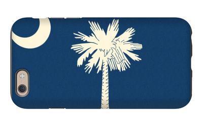 South Carolina State Flag iPhone 6 Case by  Lantern Press