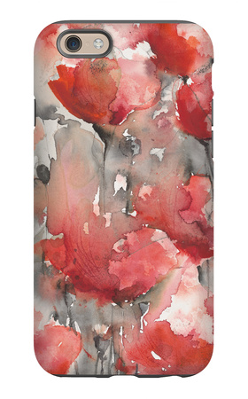 Infinity Blooms iPhone 6 Case by Karin Johannesson