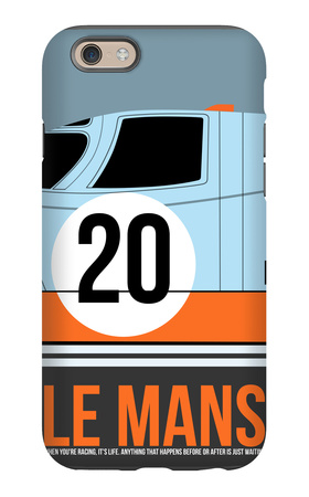 Le Mans Poster 2 iPhone 6s Case by Anna Malkin
