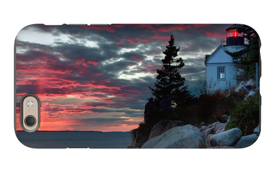 Sunset at Bass Harbor iPhone 6s Case by Vincent James