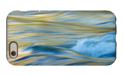 Late Afternoon Light and Merced River Abstract iPhone 6s Case by Vincent James