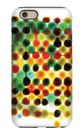 Thought Patterns iPhone 6 Case by Paulo Romero