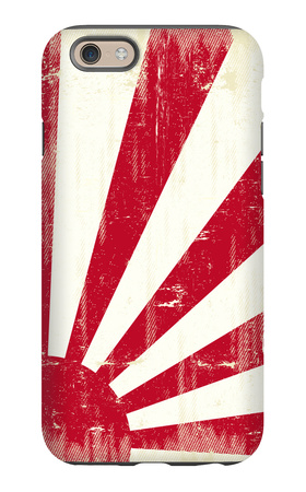 Grunge Japan Flag. An Old Japan Grunge Flag For You iPhone 6 Case by  TINTIN75
