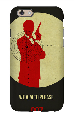 James Poster Black 2 iPhone 6s Case by Anna Malkin