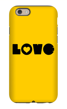 Love Yellow iPhone 6s Case by  NaxArt