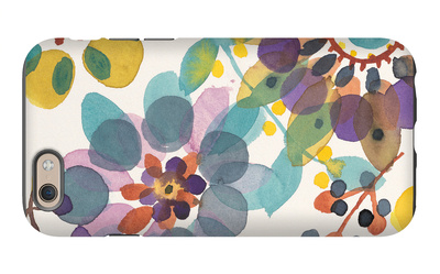 Candy Flowers 1 iPhone 6 Case by Karin Johannesson