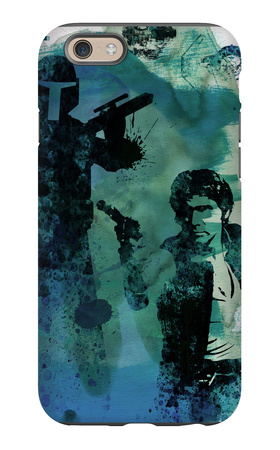 Star Warriors Watercolor 2 iPhone 6s Case by Anna Malkin