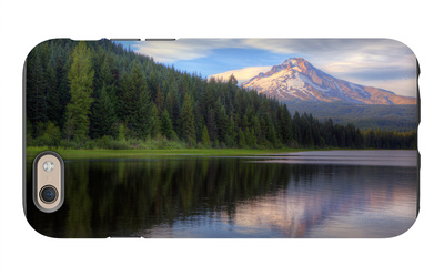Mount Hood from Trillium Lake, Oregon iPhone 6s Case by Vincent James
