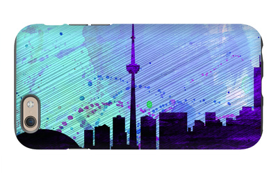 Toronto City Skyline iPhone 6 Case by  NaxArt