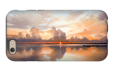 Sunset over Lake iPhone 6 Case by Bruce Nawrocke