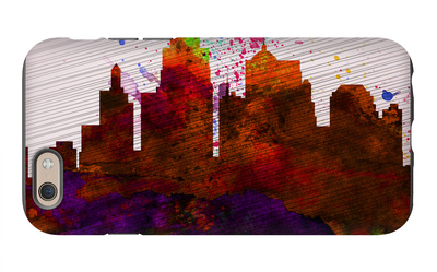 Kansas City Skyline iPhone 6s Case by  NaxArt