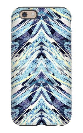 Psychedelic Fiber Seamless Pattern iPhone 6 Case by Alexandra Khrobostova