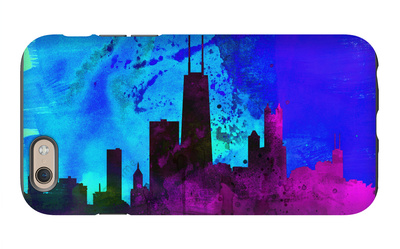 Chicago City Skyline iPhone 6s Case by  NaxArt