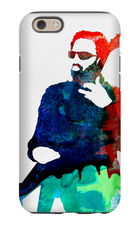 Lenny Watercolor iPhone 6 Case by Lora Feldman