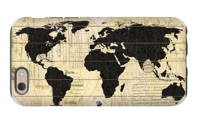 Vintage World Map iPhone 6 Case by Devon Ross