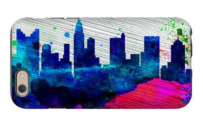 Columbus City Skyline iPhone 6s Case by  NaxArt