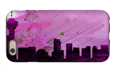 Vancouver City Skyline iPhone 6 Case by  NaxArt