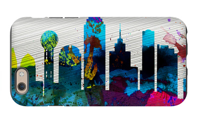 Dallas City Skyline iPhone 6s Case by  NaxArt