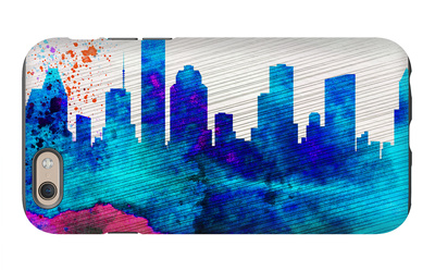 Houston City Skyline iPhone 6s Case by  NaxArt