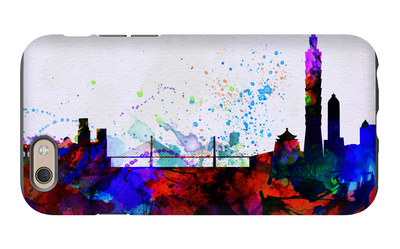 Taipei City Skyline iPhone 6 Case by  NaxArt