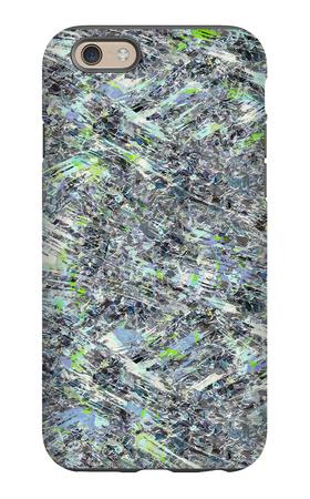 Psychedelic Seamless Pattern iPhone 6 Case by Alexandra Khrobostova