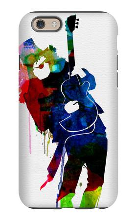 Slash Watercolor iPhone 6 Case by Lora Feldman