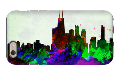 Copenhagen City Skyline iPhone 6 Case by  NaxArt