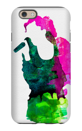 Gwen Watercolor iPhone 6 Case by Lora Feldman