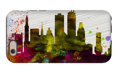Boston City Skyline iPhone 6s Case by  NaxArt