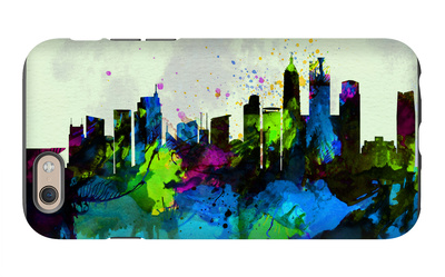 Shanghai City Skyline iPhone 6 Case by  NaxArt