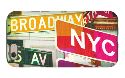 Broadway and Fifth Ave iPhone 6 Case by Evangeline Taylor