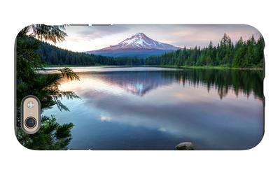 Summer Sunset at Trillium Lake, Oregon iPhone 6 Case by Vincent James