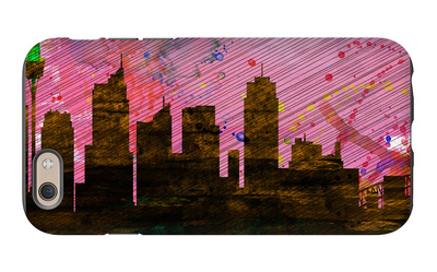 Sydney City Skyline iPhone 6 Case by  NaxArt