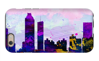 Atlanta City Skyline iPhone 6s Case by  NaxArt