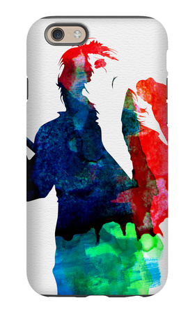 Alice Watercolor iPhone 6 Case by Lora Feldman