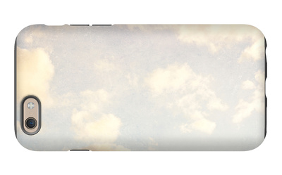 Pale Blue Sky And Clouds 5 iPhone 6 Case by Susannah Tucker