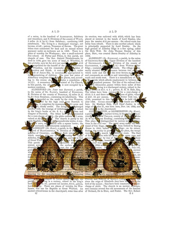 BeeHive Print Prints by  Fab Funky