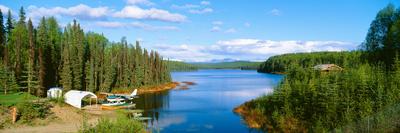 Seaplane on Talkeetna Lake, Alaska Photographic Print by Panoramic Images