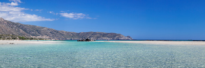 View of the Elafonisi Beach, West Coast, Crete, Greece Photographic Print by Panoramic Images