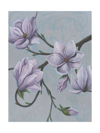 Branches of Magnolia I Art by Grace Popp