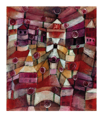 The Rose Garden Giclee Print by Paul Klee