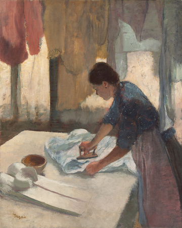 Woman Ironing, c.1876 - 1887 Giclee Print by Edgar Degas