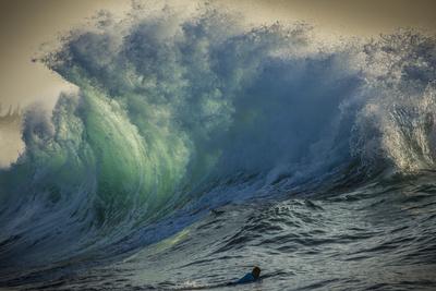Wave Photo at Papohaku Beach, West End, Molokai, Hawaii Photographic Print by Richard Cooke III