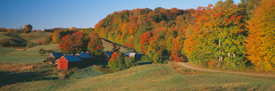Jenny Farm, South of Woodstock, Vermont Photographic Print by Panoramic Images